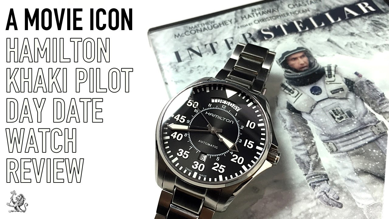 The Interstellar Hamilton Khaki Pilot Day Date - The Best Automatic  Aviation Watch Under  600  7cc3bad2d8b7