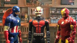 Ant-Man Picks a New Superhero Name (Marvel Avengers Action Figure Parody/Toy Spoof)