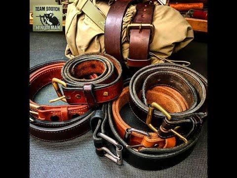 Leather Belt 25 Survival/ SHTF Uses