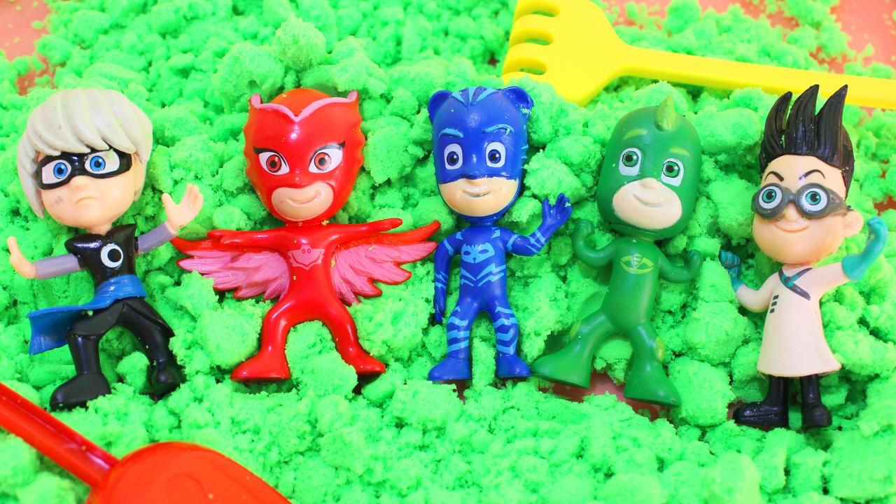 Игрушки герои в масках мультик