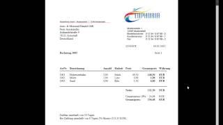 Rechnungsprogramm - Software zum Rechnungen Schreiben (PDF) - Online Rechnung - Kassenbuch