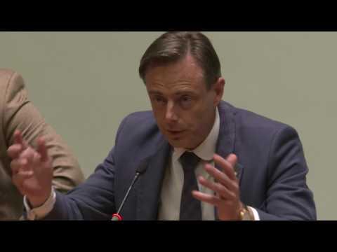 Panelgesprek met Bart De Wever bij boekvoorstelling Onvoltooid Vlaanderen