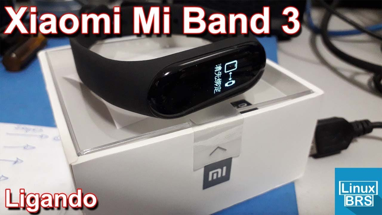 Xiaomi Mi Band 3 Ligando Youtube