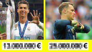 5 Fußball WM-Spieler und was sie wirklich verdienen!