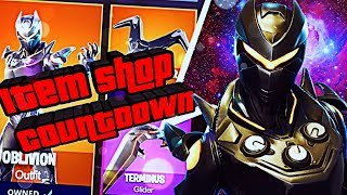 *NEW* FORTNITE ITEM SHOP COUNTDOWN New OBLIVION Skin + TERMINUS Glider Fortnite Battle Royale