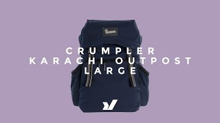 Crumpler Karachi (L) Outpost DSLR Backpack Thumbnail