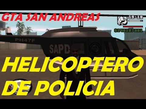 Como Conseguir El Helicoptero De Policia