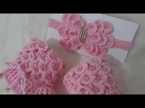 Botinha de croch para beb youtube - Dibujos para sabanitas de bebe ...