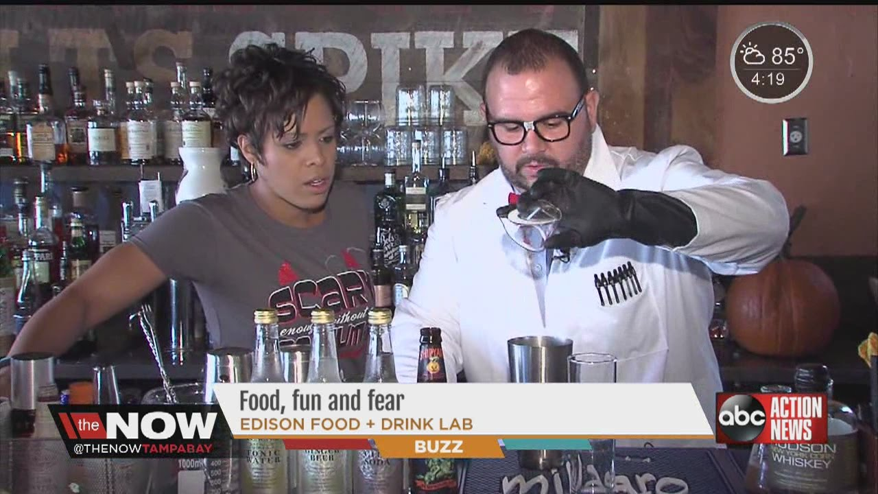 Halloween Drinks From The Edison Food And Drink Lab Thenowtampabay