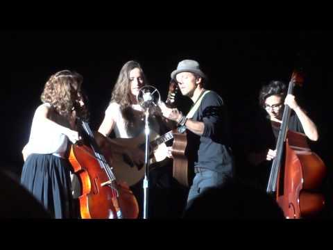 Best Friend - Jason Mraz & Raining Jane - Hammersmith 8 February 2015