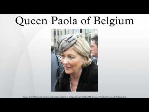 Queen Paola of Belgium