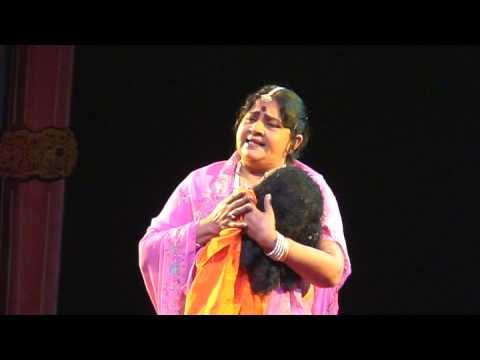 Smt.Pratibha as Mandodari in Kannada drama Prachanda Ravana