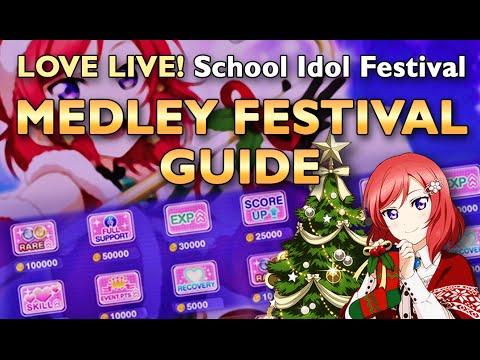 Love Live! SIF - Medley Festival Guide