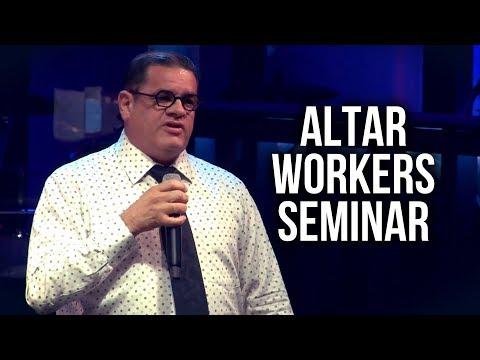 """Altar Workers Seminar"" - David Smith"