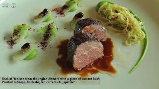 3-michelin Starred Chef Sven Elverfeld Creates A Venison With Cabbage And Spatzle Recipe