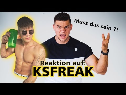 Meine Reaktion auf: KSFREAK 3 MONATE TRANSFORMATION 😂 | SMARTGAINS