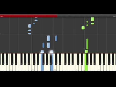 TheFatRat Prelude piano midi tutorial sheet partitura cover app karaoke drumm