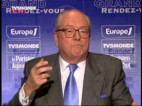 Le grand rendez-vous avec Jean-Marie Le Pen le 08/04/2007
