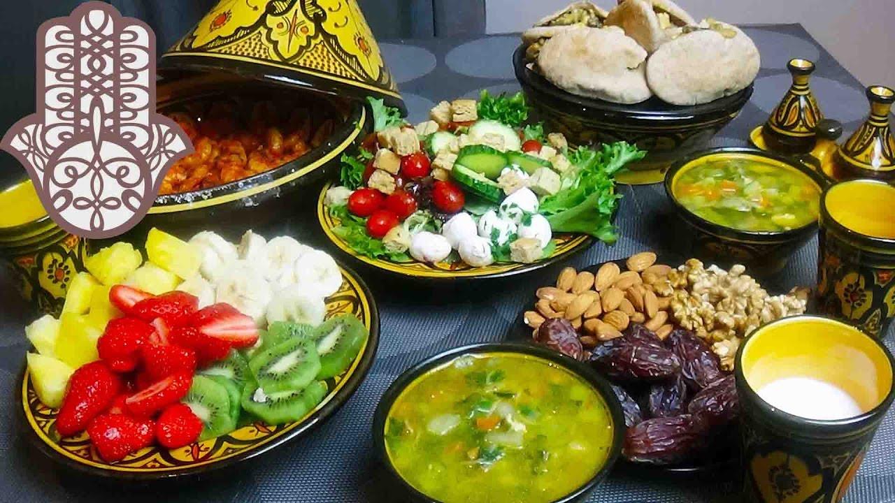 Menu ramadan diétetique - YouTube