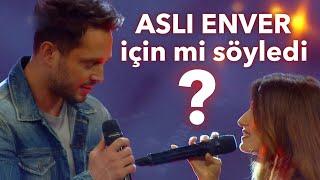 Murat Boz acaba Aslı Enver için mi söyledi? | O Ses Türkiye