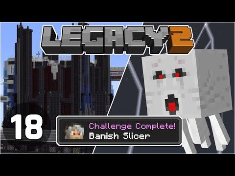 Lightning Ghasts & The End of Slicer - Legacy SMP 2: #18 | Minecraft 1.16 Survival Multiplayer
