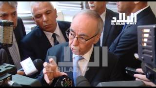 حاجي بابا عمي  / وزير المالية -el bilad tv -