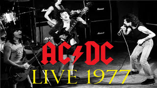 AC/DC live at the Hippodrome 1977