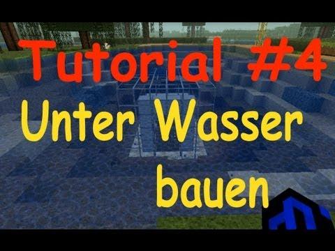 Minecraft Tutorial Unter Wasser Bauen Tutorial GERMAN YouTube - Minecraft wasser hauser