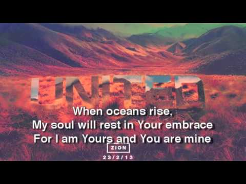 Hillsong - Oceans (Where Feet May Fail) - Lyric Video (Short)