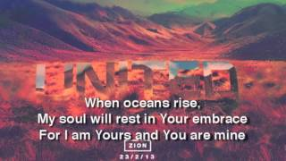 Hillsong - Oceans (Where Feet May Fail) - Lyric Video (Short)