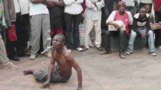 street performer in zimbabwe part 3
