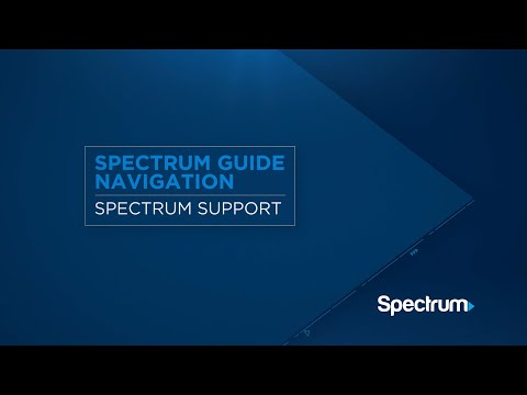 Spectrum Guide – Navigation