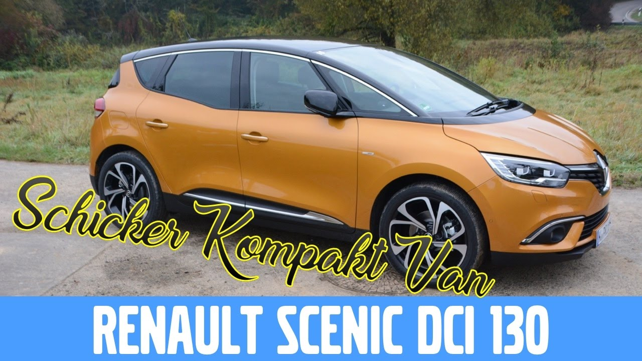 renault scenic energy dci 130 bose edition test review und fahrbericht youtube. Black Bedroom Furniture Sets. Home Design Ideas