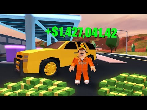 BUYING THE 1BIL GOLDEN SUV in JAILBREAK UPDATE! (Roblox Jailbreak)
