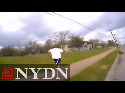 Video released showing killing of black Oklahoma suspect