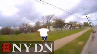 Raw: Tulsa Police Chase And Shoot Eric Courtney Harris thumbnail