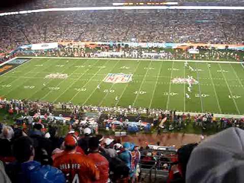 Super Bowl XLI - Devin Hester kick off return