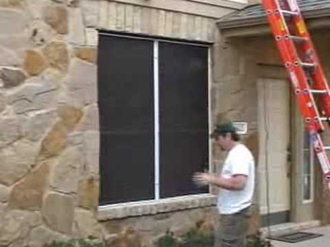 JoshHobbs.com Recessed Solar Window Screen with Die-Cast Clips ...
