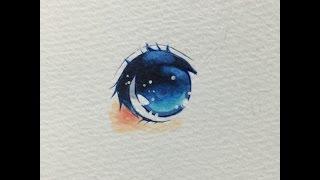 コピックで青い目の描き方【お茶助】 thumbnail