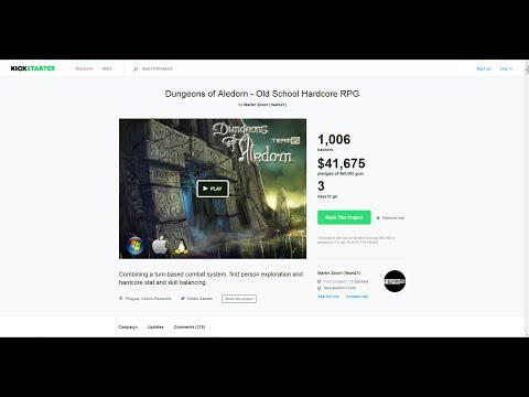 Dungeons Of Aledorn - Old-School Hardcore RPG