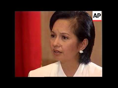 Interview with President Gloria Macapagal Arroyo