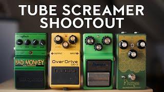 Tube screamer shootout (ibanez ts9, earthquaker devices plumes, boss od3, digitech bad monkey) mp3