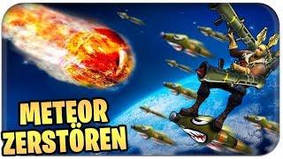 🚀 ZUM KOMET FLIEGEN UND ZERSTÖREN ☄️   Fortnite Meteorite Deutsch German