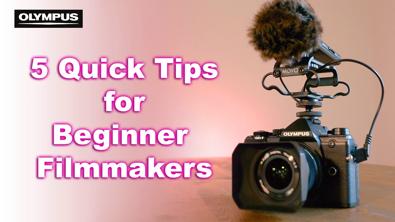 5 Quick TIPS to start filmmaking with Jimmy Cheng