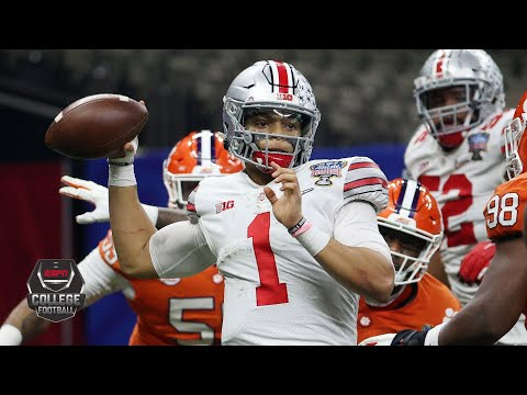 Ohio State's Justin Fields throws 6 TDs in Sugar Bowl [HIGHLIGHTS]   College Football Playoff