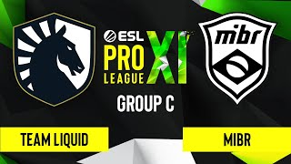 CS:GO - Team Liquid vs. MIBR [Overpass] Map 1 - ESL Pro League Season 11 - Group C