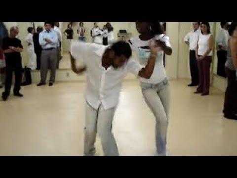 Samba-Rock(01) com o Prof. Moskito e Anna Beyoncé Paula