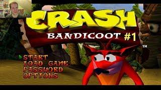 CRASHING MY WAY THROUGH | Crash Bandicoot #1