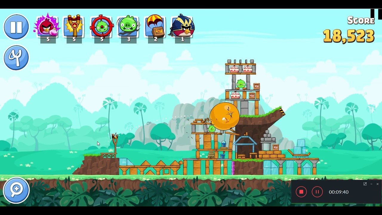 FREE video game in PC/ Mobile-NEW Angry birds Friends - GRATUIT jeu mobile  - YouTube