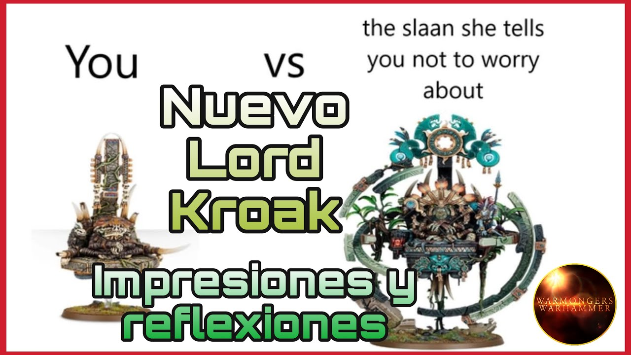 Nuevo Lord Kroak Warhammer Age of Sigmar